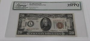 1934 A $20 Twenty Dollar FRN HAWAII Note Fr. 2305 Legacy VF-35 PPQ