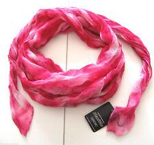 Halstuch Maximo NEU m.E 98x94 pink rosa weiß Schal Tuch dünn crincel kinder