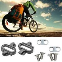 Fahrrad MTB Lock Pedalplatte SPD Adapter Schuhplatten für Shimano Clipless B4W0