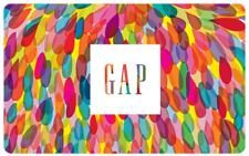 $25 GAP Gift Card - Shipping to CANADIAN address ONLY (Mail delivery)