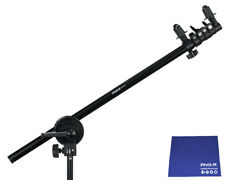 Phot-R 175cm Collapsible Reflector Holder Boom Arm Grip Stand Chamois Cloth