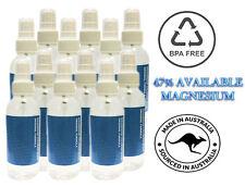 100 Natural Magnesium Oil Spray 2 X 125ml Organic Detox Pain Relief & Sleep Aid