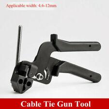 Stainless Steel Metal Wrap Zip Cable Tie Gun Pliers Tightener Cutter Fasten Tool
