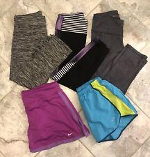Womens Athletic Exercise Workout Leggings Pants Shorts C9 Champion Nike Lot Xs S