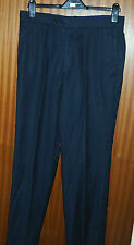 Unbranded Flat Front 30L Trousers for Men
