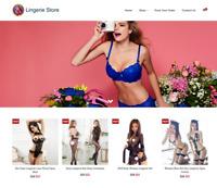 Established Lingerie Turnkey Website BUSINESS For Sale - Profitable DropShipping