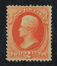 CKStamps: US Stamps Collection Scott#183 2c Jackson Unused Regum Tiny Thin