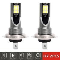 AU 2PCS CREE H7 200W Car LED 6000k Headlight Fog Bulbs Kit HID Canbus Error Free
