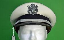 Air Force Officer Ace Flight Mess Dress Hat - USAF White - size 7 1/2 -