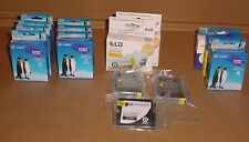 Lot 16 Genuine Brother LC51 Ink Cartridges, 3 Magenta, 4 Cyan, 5 Blck & 4 Yellow