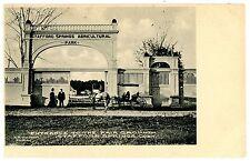 Stafford Springs Conn Ct-Entrance To Fair Grounds-Postcard