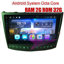 Octa Core Android 8.1 Car Stereo For Lexus IS250 IS350 2005-2011 GPS Navigator