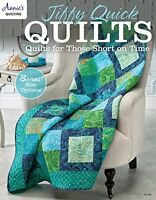 Jiffy Quick Quilts Quilts for the Time Challenged by Annie's Quilting (Paperback