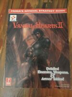 Vandal Hearts II 2 - Prima Official Strategy Guide PlayStation PS1 1999 Rare