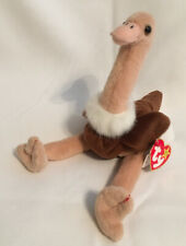 "TY Beanie Babies~""STRETCH"" OSTRICH~BORN September 21, 1997 -Swing & Tush Tags"
