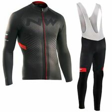 Jersey Sets Long Thermal Fleece Pad Mtb Cycling Clothes Ciclismo Ropa Ciclista