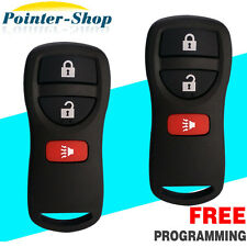 2X New Replacement Keyless Entry Remote Control Key Clicker For Nissan KBRASTU15