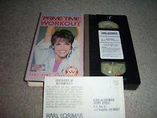 Jane Fonda's Prime Time Workout (VHS) Karl Lorimar video