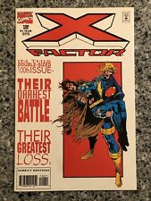 X-FACTOR #100 VF (Marvel 1994) White Cover, Double Sized