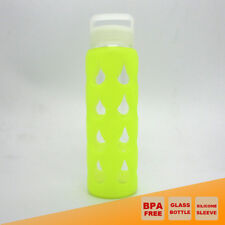 700ml GLASS WATER HYDRATION BOTTLE BPA FREE OUTDOOR SPORT CAMPING HIKING KETTLE