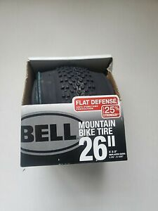 "Bell Traction 26""  Mountain Bike Tire  x 1.75 x 2.125  NEW 25% Stronger"