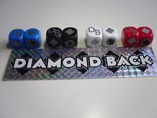 OLD SCHOOL BMX DIAMOND BACK DUST CAPS 4 COLOURS SILVER STREAK VIPER HARRY LEARY
