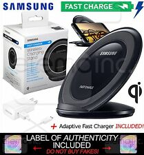 Samsung Wireless Fast Charge Qi Charging STAND Pad for Galaxy S7 iPhone X 8 Plus