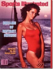 February 8, 1982 Carol Alt Sports Illustrated Swimsuit Issue NO LABEL
