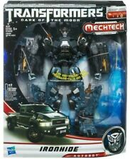 Transformers Movie DOTM Leader Class IronHide GMC Truck Mech Tech Battle MISB G1
