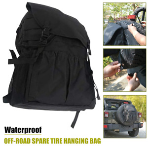 1×Off-road Vehicle SUV Spare Tire Hanging Bags Tire Storage Carry  Package Cover