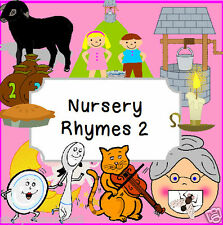 NURSERY RHYMES 2  Primary Teaching resources KS1 EYFS SEN Story Literacy  CD Rom