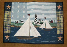 America The Beautiful ~ Sailboat Tapestry Placemat ~ Artist, Warren Kimble