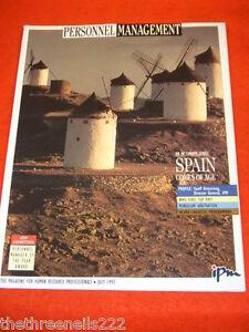 PERSONNEL MANAGEMENT - SPAIN - JULY 1992