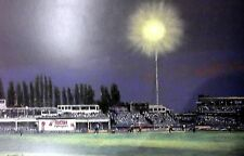 CRICKET FIRST COMPETITIVE DAY NIGHT MATCH EDGEBASTON, 23 JULY 1997 POSTER PRINT