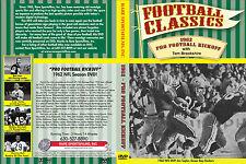 Pro Football Kickoff TV Show w/ Tom Brookshier NFL Season 3 1/4 hour DVD!