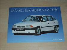 40868) Opel Astra Irmscher Pacific Prospekt 10/1991
