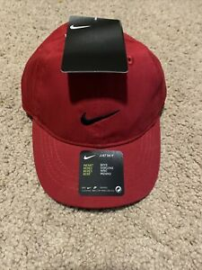 NEW Boys Nike Cap Adjustable Hat Red Infant * Tags Attached