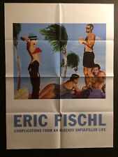 ERIC FISCHL, invitation/folded poster, Spruth Magers gallery 2019