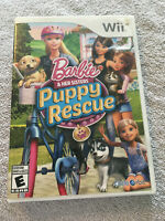 Barbie & Her Sisters: Puppy Rescue - Nintendo Wii - 2015 - COMPLETE - TESTED