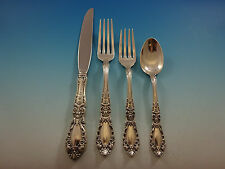 Prince Eugene by Alvin Sterling Silver Flatware Set For 12 Service 54 Pieces