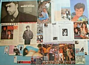 George Michael 30 Great Clippings L@@K!
