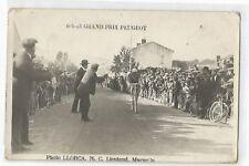 CPA SPORT , CYCLISME, GRAND PRIX PEUGEOT , ENVIRONS DE MARSEILLE , 1923