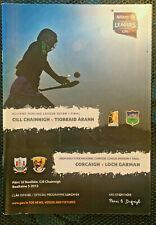 2013 GAA NHL Final KIlkenny v Tipperary Programme
