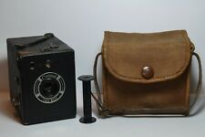 Coronet 020 120 6X9 Box camera with canvas case