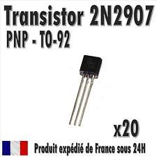 Transistor 2N2907 - PNP - TO-92 - Lot de 20 pieces