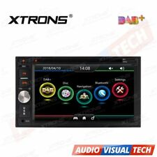 "XTRONS 6.2"" Double 2 DIN Sat Nav Car GPS CD DVD Player Stereo DAB+ Digital Radio"