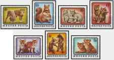 Timbres Animaux Hongrie 2480/6 ** lot 29196