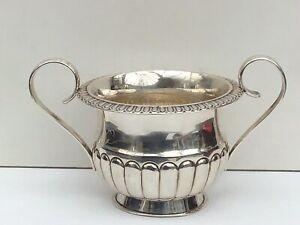 A Georgian Solid Silver Sugar Bowl, 1819