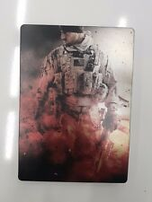 Medal of Honor Warfighter limited edition steelbook metal game case ONLY No Game