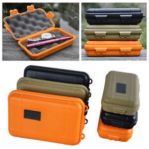 Waterproof Shockproof Outdoor Survival Container Storage Case Carry Box